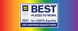 Best Places to Work 2021 Corporate Equality Index logo
